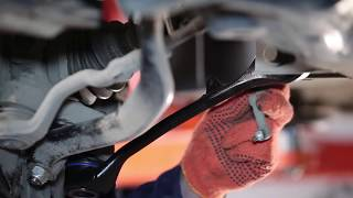 Как да сменим предния долен носач на задното окачване на BMW X3 E83 [ИНСТРУКЦИЯ]