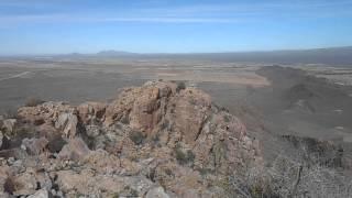Safford Peak Summit Log and Pan