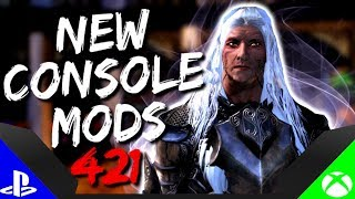 Skyrim Special Edition: ▶️5 BRAND NEW CONSOLE MODS◀️ #421 (PS4/XB1/PC)