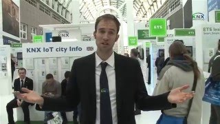 KNX IoT city at light+building 2016