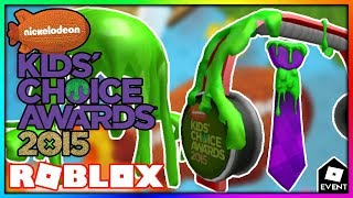 [LEAK] ROBLOX KIDS' CHOICE AWARDS 2015 CANCELLED EVENTS | Leaks and Prediction