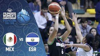 Mexico v El Salvador - FIBA U16 Women's Americas Championship 2019