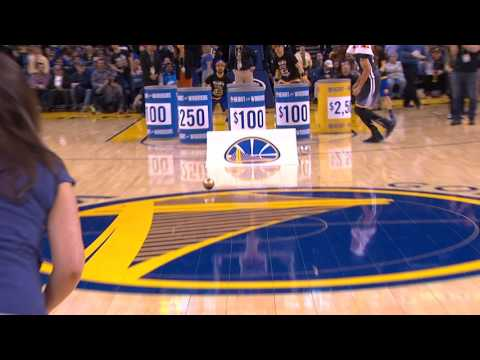 Fan Wins $5,000 Off Steph Curry Assist |...