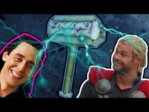 Thor's Hammer from (Toilet Paper Rolls) DIY End Games