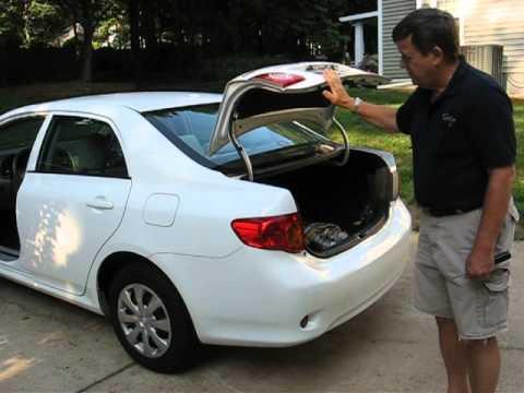 Corolla trunk lift fix