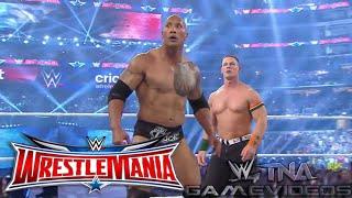 WWE WRESTLEMANIA 32 The Rock & John Cena vs. The Wyatt Family