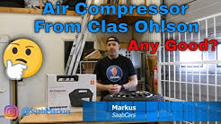 Air Compressor from Clas Ohlson - Any good?