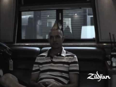 Zildjian Behind the Scenes: Adrian Young (No Doubt)