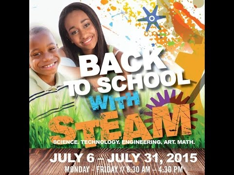 The Watering Hole's Inspirations Academy S.T.E.A.M. Camp Program 2015