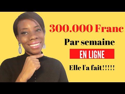 Gagner 300.000F/semaine en ligne en Côte d'Ivoire.Elle l'a fait!!!