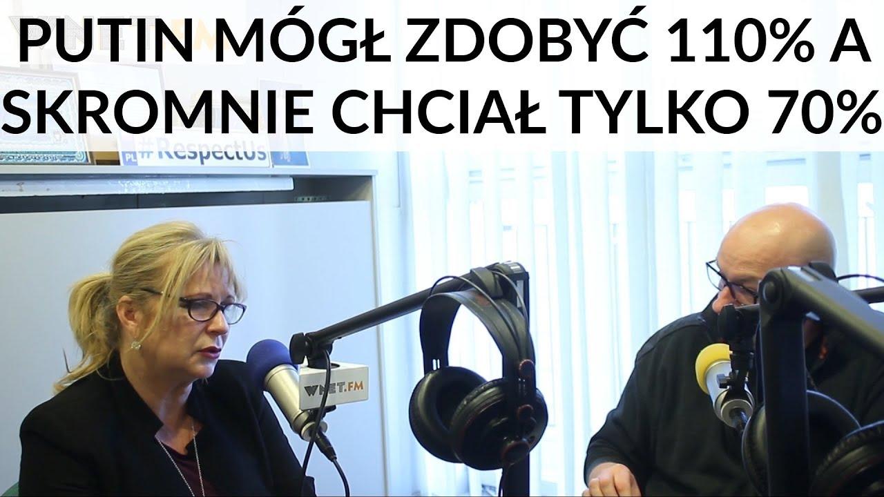 Gosiewska: Putin ze słabymi się nie liczy. Negocjatorzy, rozmówcy europejscy są dla niego słabi