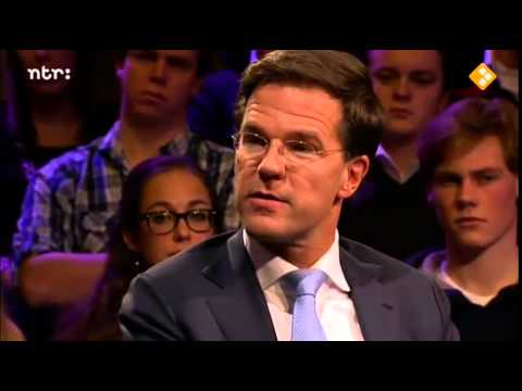 Mark Rutte College Tour