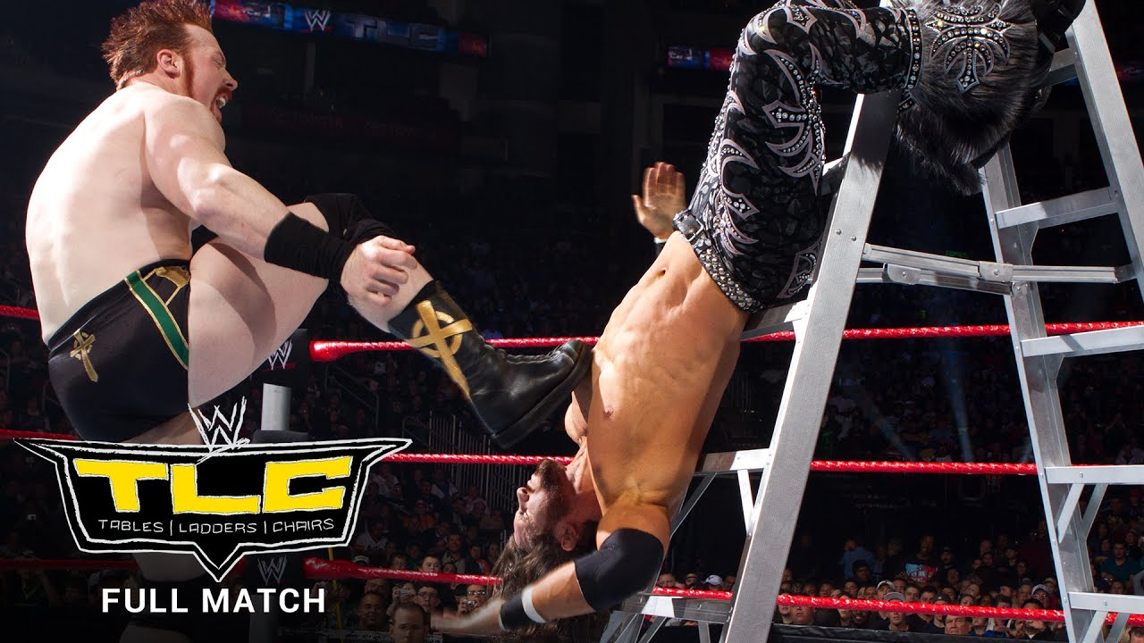FULL MATCH - John Morrison vs. King Sheamus – Ladder Match: WWE TLC 2010