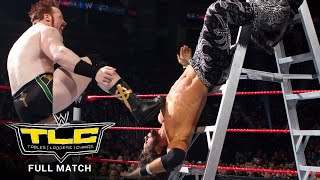 FULL MATCH - John Morrison vs. King Sheamus - Ladder Match: WWE TLC 2010