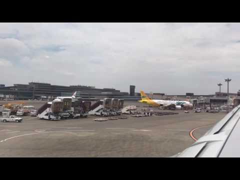 Narita to Madrid 成田からマドリード直行便 空の旅