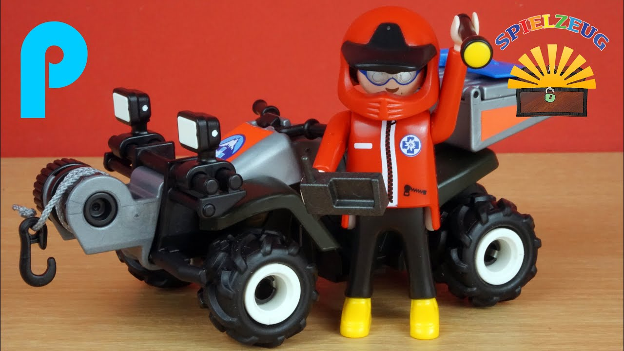 Bergrettungs quad 5429 playmobil country rettung for Playmobil 6445