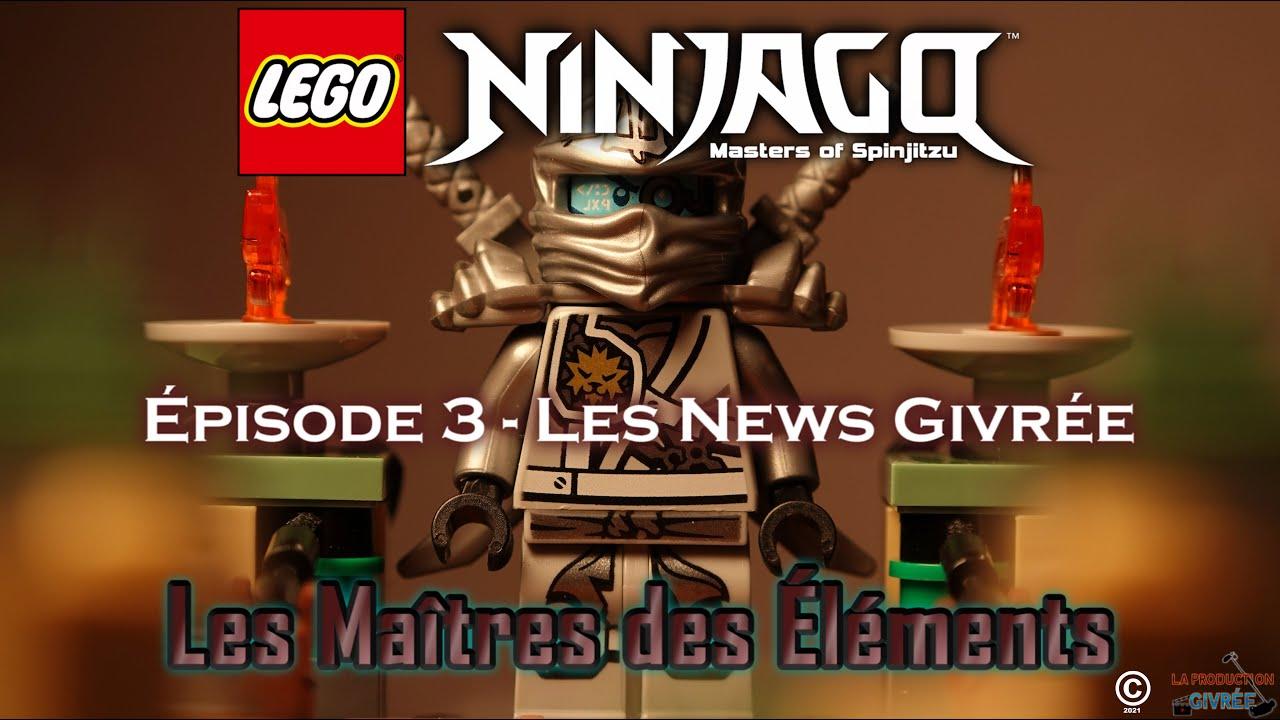LEGO® Ninjago™ - Les Maîtres des Éléments   Épisode 3 - Les News Givrée