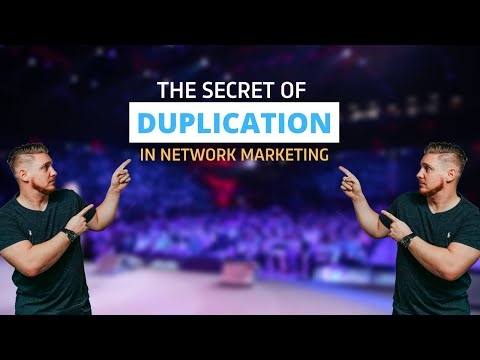 The Secret of duplication in network marketing