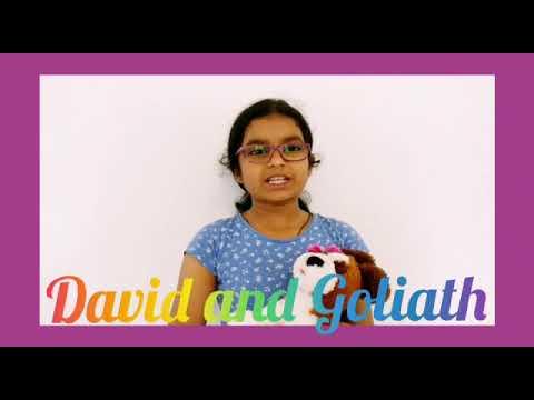 Kids Bible Stories- David and Goliath-Agnes Maria