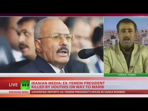 Yemen ex-president Saleh killed by Houthis - reports (DISTURBING FOOTAGE)