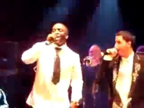 Akon - Beautiful live w acapella  grammy afterparty Colby O Donis Kardinal Offishall (( with LYRICS))