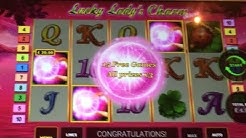 HUGE WIN Lucky Lady's Charm £4 bet online slot (poor quality)