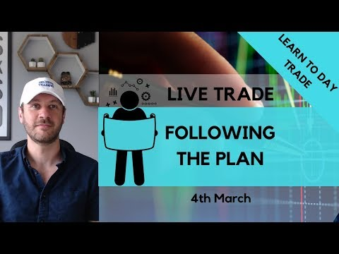 Following The Plan – Live Dax Trade 4th March