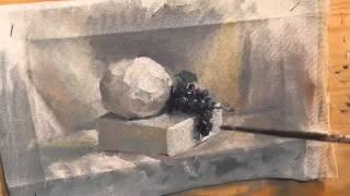 Εργαστήριο Ελευθέρου σχεδίου και ζωγραφικής Ζωγράφοι.GR: Νεκρή φύση με σταφύλια