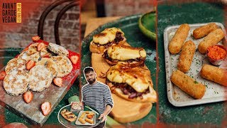 BEST VEGAN FOOD I'VE MADE!!! RECIPES.. you must watch! 🏴󠁧󠁢󠁷󠁬󠁳󠁿