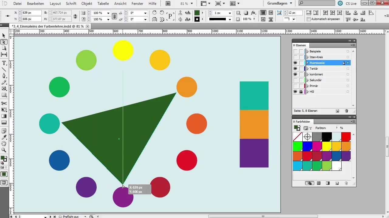 Das einmaleins der farbenlehre grafik und gestaltung youtube - Farben mischen tabelle ...