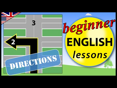 Directions in English | Beginner English Lessons for Children