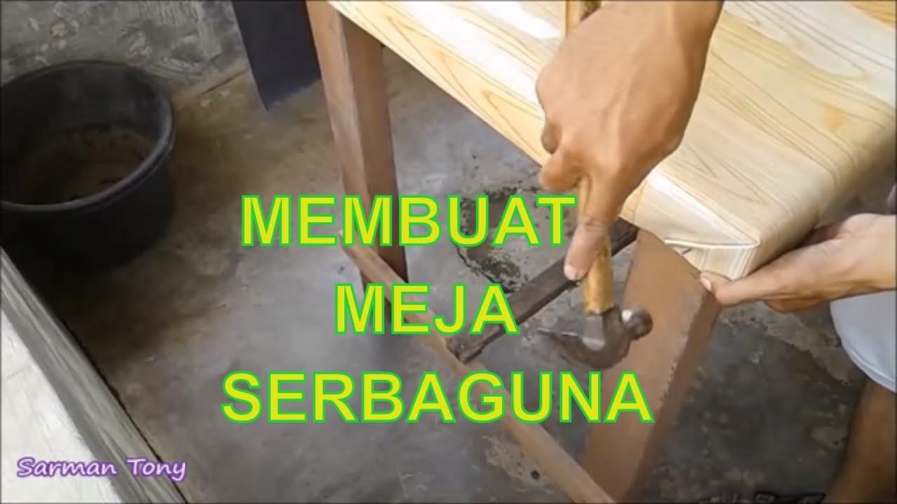 Cara Membuat Meja Kerja Sederhana