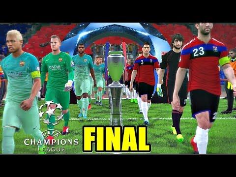 MESSI EN MENOS DE 1 MINUTO...INCREÍBLE. FINAL CHAMPIONS LEAGUE! | PES 2017