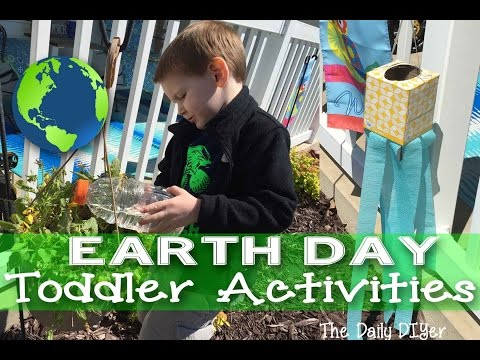 Happy Earth Day! Toddler Activities