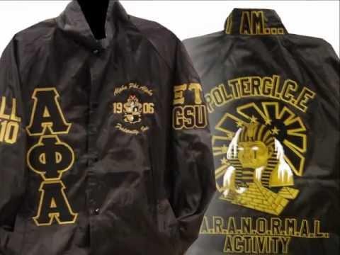 Stuff4GREEKS Spotlight Story - From Sketch to Line Jacket - Alpha Phi Alpha Sphinx  #afa #alpha