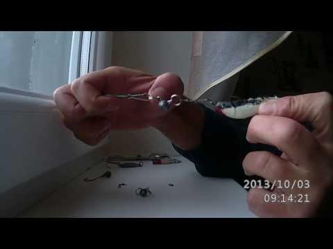 Изготовление снасти для ловли щуки.
