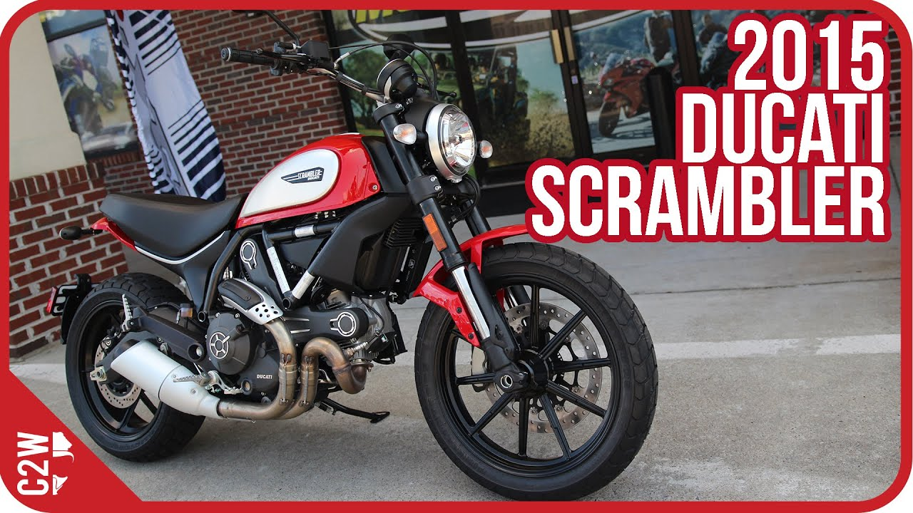 Ducati Scrambler First Ride