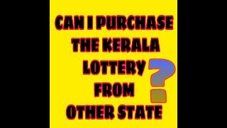 who can buy kerala lottery 2019