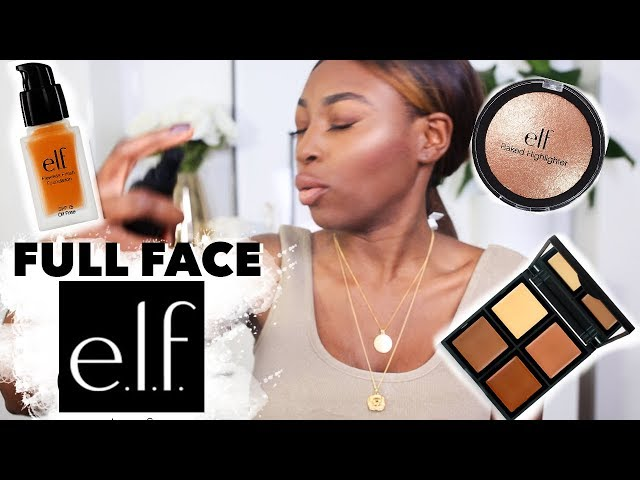 A FULL FACE OF E.L.F MAKEUP... HERES MY HONEST FIRST IMPRESSIONS ?