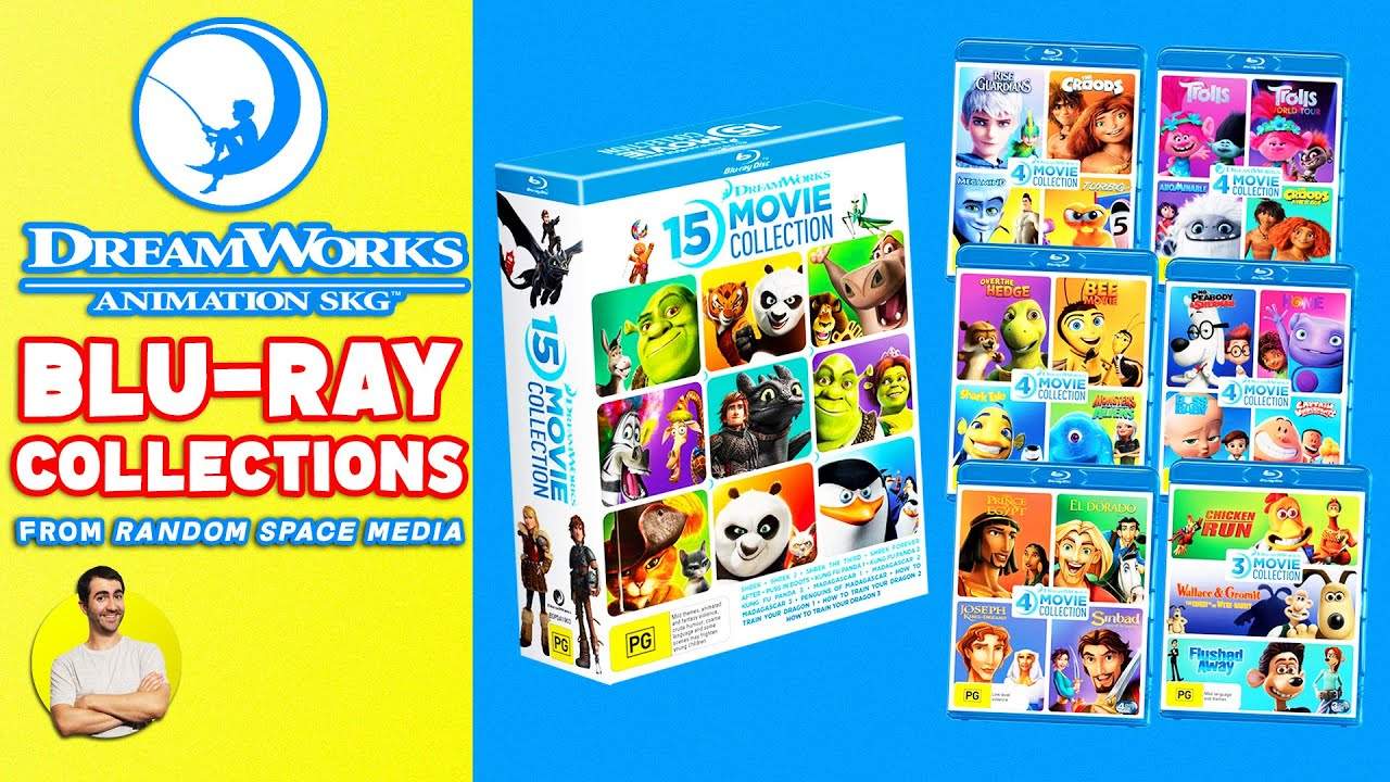 Download NEW DreamWorks Animation Blu-ray Collections!