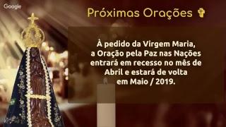 Orando pela Paz no BRASIL • 26 de março • 7h (Brasília, Buenos Aires e Montevidéu)