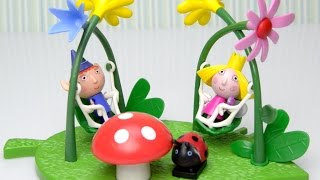 Ben And Holly's Little Kingdom Magical Playground Swing Set Unboxing Review And Play