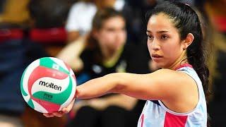 Craziest Volleyball Serves by Samantha Bricio (HD)
