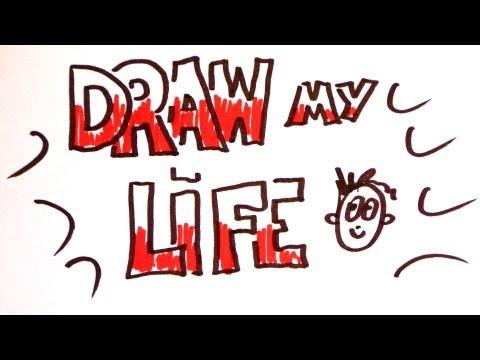 Draw my life - Iberê Thenório, Manual do Mundo (comemoração pelos 1 milhão de inscritos!!!)