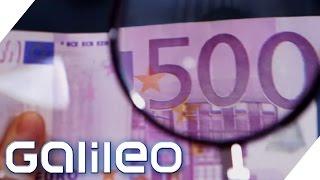 Koks an Geldscheinen - spannende Fakten rund ums Geld | Galileo | ProSieben