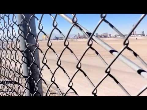 Differents Landing at Mac Carran Airport Las Vegas feb 2014 runway 25 L