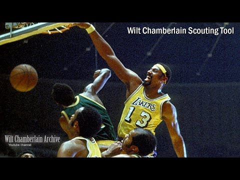 Wilt Chamberlain Scouting Video (Most Dominant NBA Player Ever)