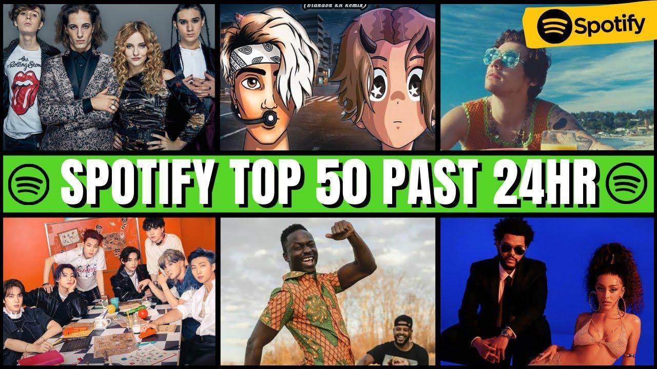 Download Spotify Top 50 | Spotify Top 50 Global Past 24hrs, #BillboardTop