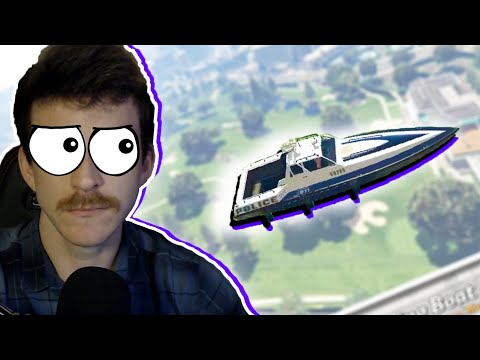 Can you play golf with a Boat in GTA 5?