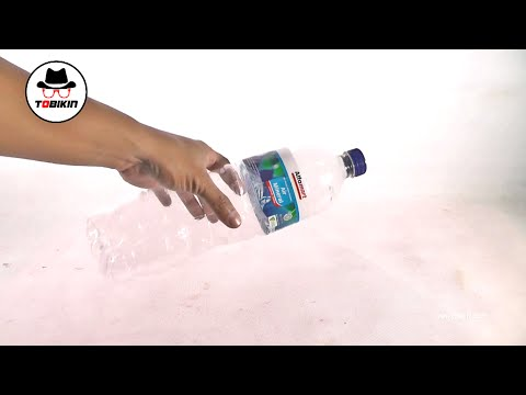 Cara Membuat Tembakan Botol Aqua